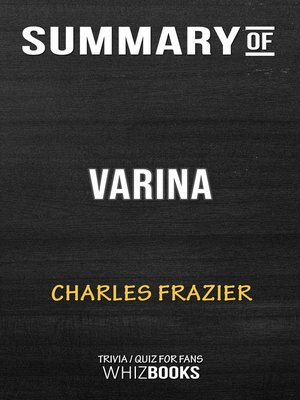 cover image of Summary of Varina by Charles Frazier (Trivia/Quiz for Fans)