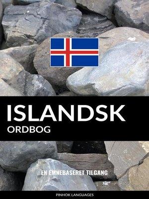 cover image of Islandsk ordbog