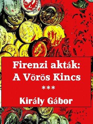 cover image of Firenzi Akták