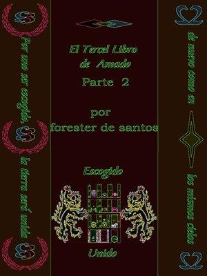 cover image of El Tercer Libro de Amado Parte 2