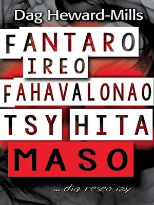 cover image of Fantaro Ireo Fahavalonao Tsy Hita Maso ...dia reseo izy