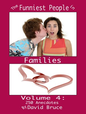 cover image of The Funniest People in Families, Volume 4