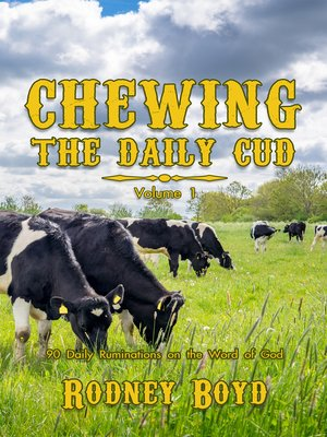 cover image of Chewing the Daily Cud, Volume 1