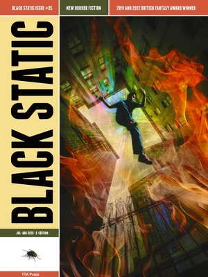 cover image of Black Static #35 Horror Magazine