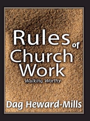 cover image of Rules of Church Work