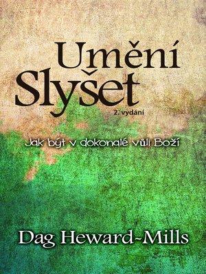cover image of Umění Slyšet