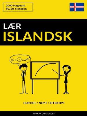 cover image of Lær Islandsk