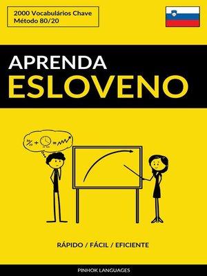 cover image of Aprenda Esloveno