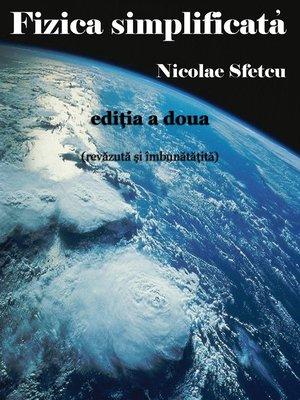 cover image of Fizica simplificată