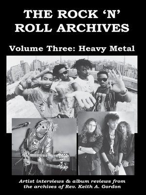 cover image of The Rock 'n' Roll Archives, Volume Three