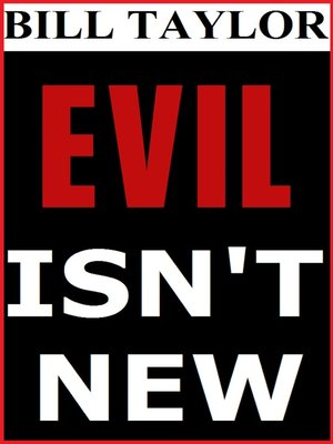 cover image of Evil Isn't New