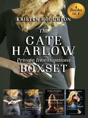 cover image of The Cate Harlow Private Investigations Boxset