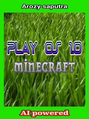 "cover image of Play OS 1.0 ""minecraft"""