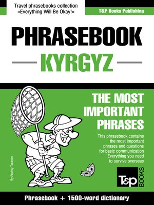 cover image of English-Kyrgyz Phrasebook and 1500-word Concise Dictionary