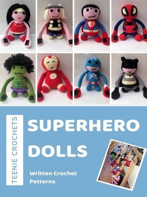 cover image of Superhero Curtain Tie Backs--Written Crochet Patterns (Unofficial)