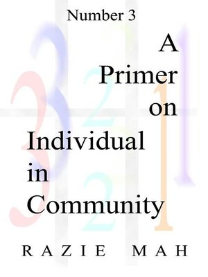 cover image of A Primer for Individual In Community