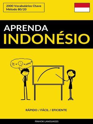 cover image of Aprenda Indonésio