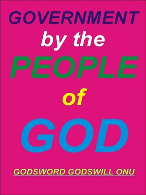 cover image of Government by the People of God