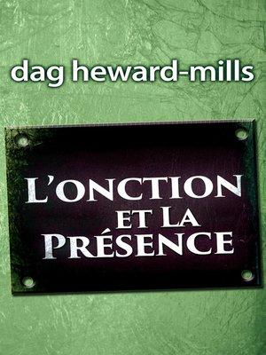 cover image of L'onction et la présence