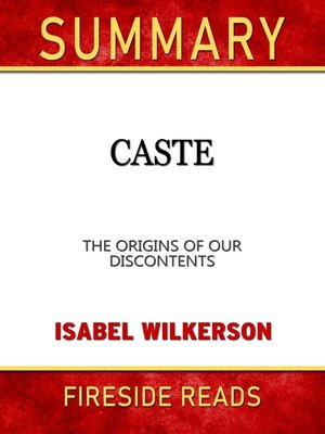 cover image of Summary of Caste