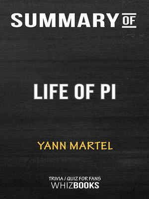 cover image of Summary of Life of Pi by Yann Martel / Trivia/Quiz for Fans