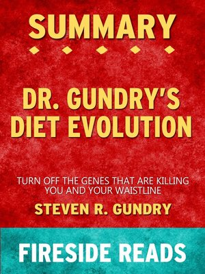 cover image of Summary of Dr. Gundry's Diet Evolution