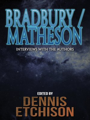 cover image of Bradbury/Matheson
