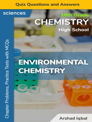 cover image of Environmental Chemistry Multiple Choice Questions and Answers (MCQs)