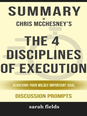 cover image of Summary of the 4 Disciplines of Execution
