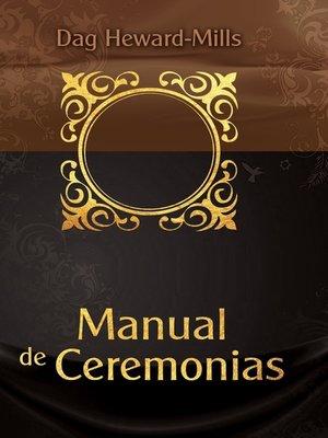 cover image of Manual de Ceremonias