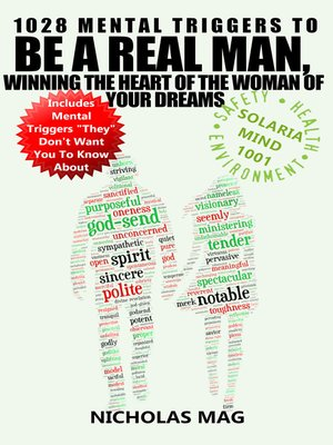 cover image of 1028 Mental Triggers to Be a Real Man, Winning the Heart of the Woman of Your Dreams