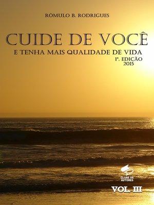 cover image of Cuide de você e tenha mais qualidade de vida Volume III