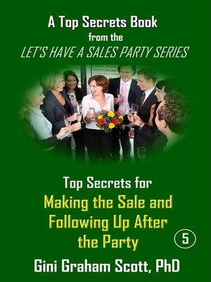 cover image of Top Secrets for Making the Sale and Following Up After the Party