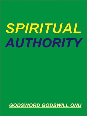 cover image of Spiritual Authority