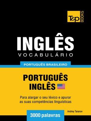 cover image of Vocabulário Português Brasileiro-Inglês Americano