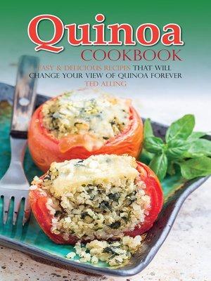 cover image of Quinoa Cookbook