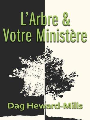 cover image of L'arbre et votre ministère