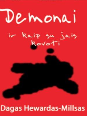 cover image of Demonai ir kaip su jais kovoti