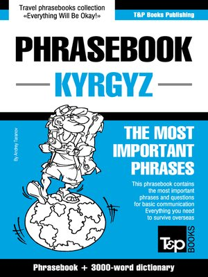 cover image of English-Kyrgyz Phrasebook and 3000-word Topical Dictionary
