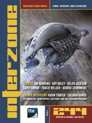 cover image of Interzone 244 Jan