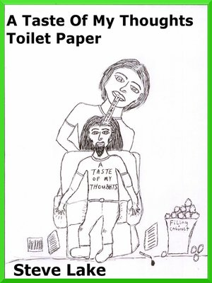 cover image of A Taste of My Thoughts Toilet Paper