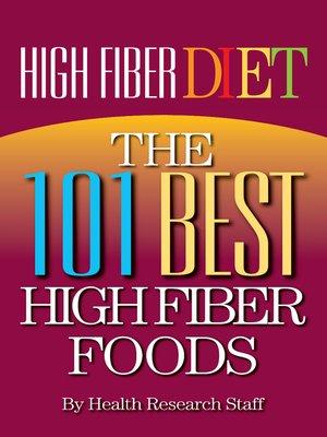 cover image of High Fiber Diet