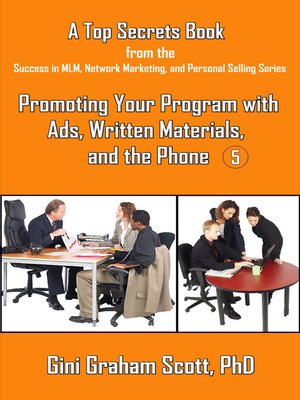 cover image of Top Secrets for Promoting Your Program with Ads, Written Materials, and the Phone