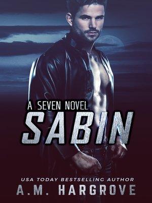 cover image of Sabin, a Seven Novel