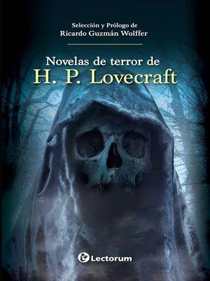 cover image of Novelas de terror de H. P. Lovecraft