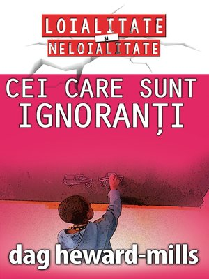 cover image of Cei care sunt ignoranți