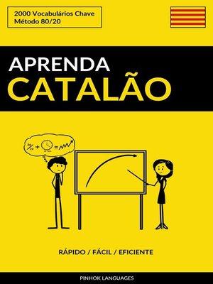 cover image of Aprenda Catalão