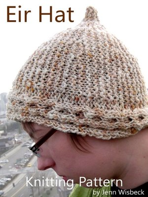 cover image of Eir Short Row Hat Knitting Pattern