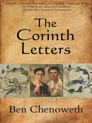 cover image of The Corinth Letters