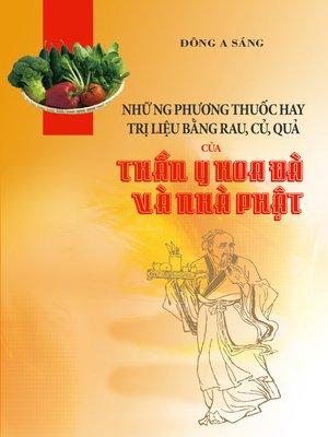 cover image of Những phương thuốc hay